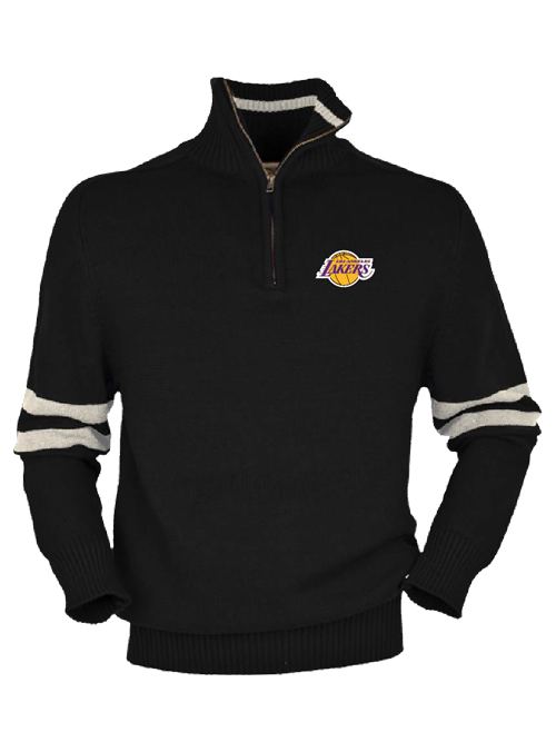 Los Angeles Lakers Half Back Quarter Zip Fleece