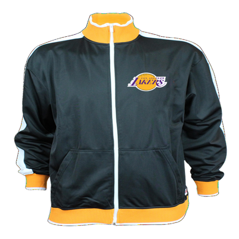 Los Angeles Lakers LC Applique Brush Track Jacket