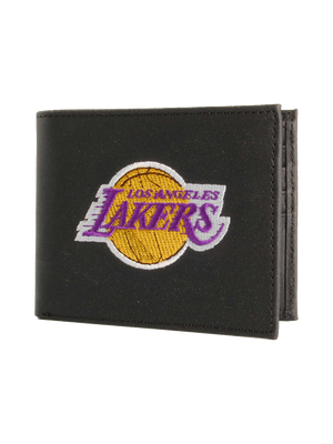 Los Angeles Lakers Embroidered Bill Fold Wallet