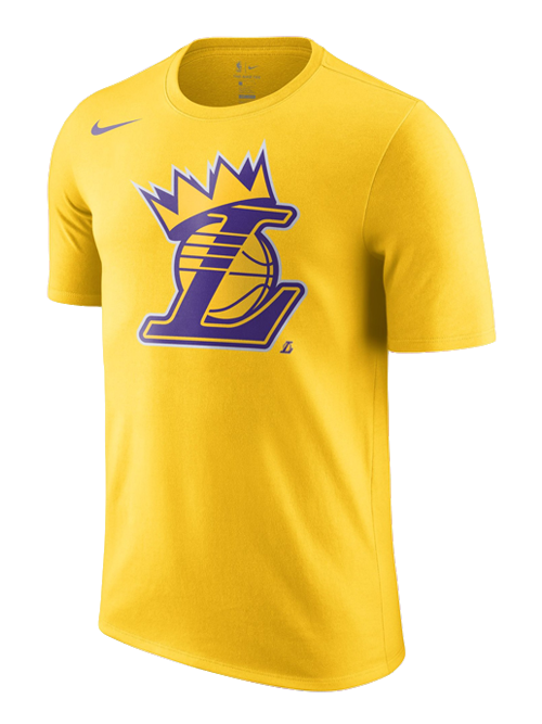 Los Angeles Lakers LeBron James Crown T-Shirt - Gold