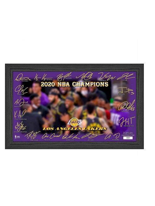 "Los Angeles Lakers 2020 NBA Champions ""Celebration"" Signature Court"