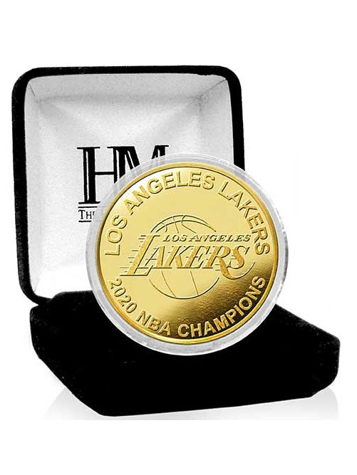Los Angeles Lakers 2020 NBA Champions Gold Mint Coin