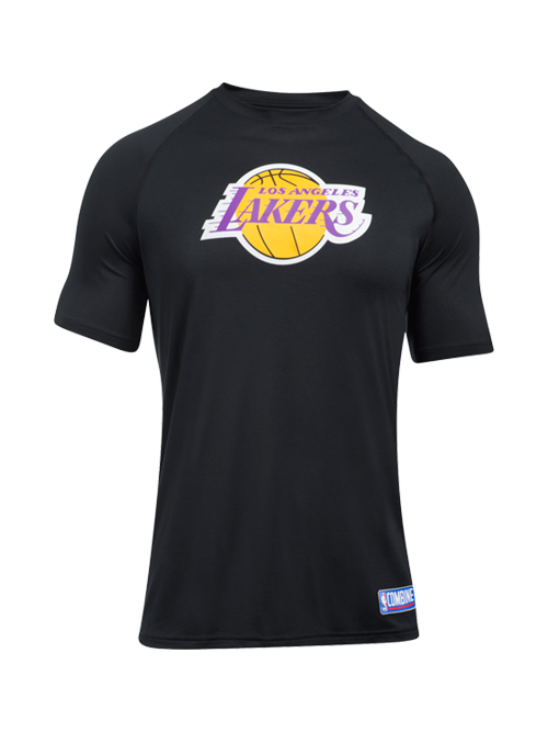 5fb53d8e353 Los Angeles Lakers Primary Logo Tech T-Shirt – Lakers Store