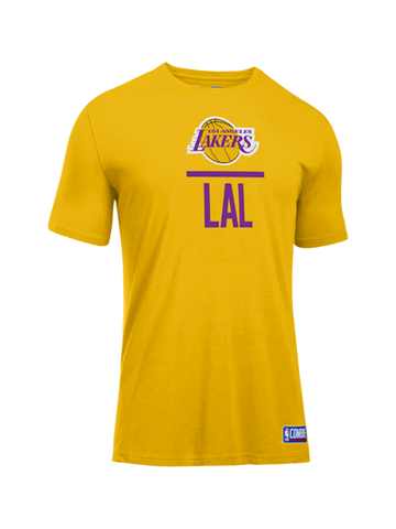 47bd7e13a01 Los Angeles Lakers Youth Combine Lock Up T-Shirt
