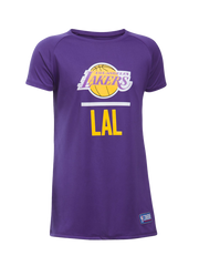 Los Angeles Lakers Girl's Combine Lock Up T-Shirt