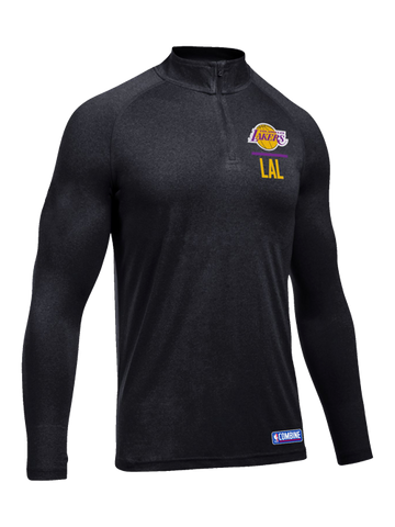Los Angeles Lakers Combine Quarter Zip Fleece