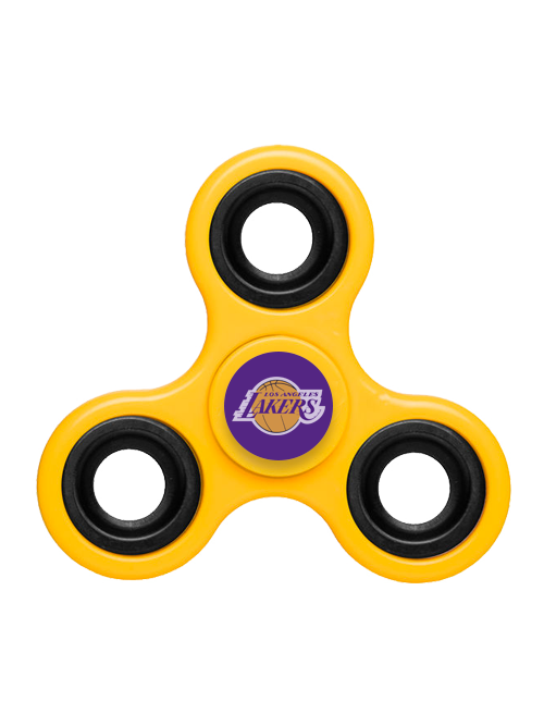 Los Angeles Lakers Gold Fidget Spinner