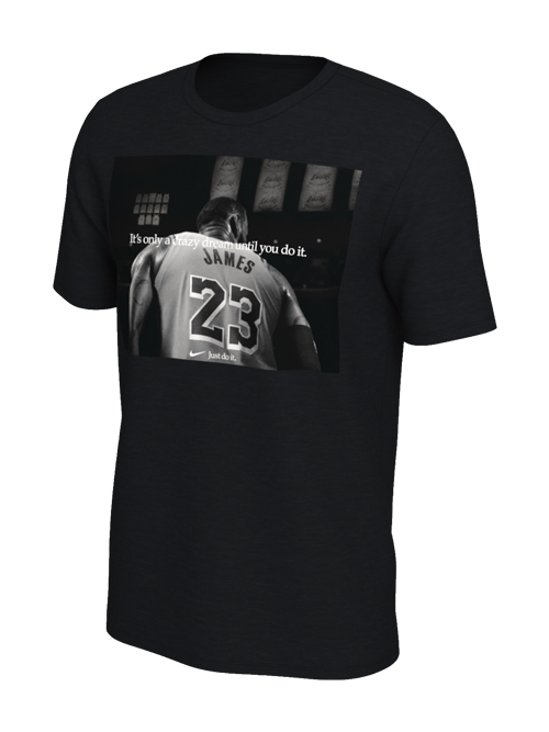225381213 Los Angeles Lakers LeBron James Opening Night T-Shirt