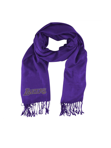 Los Angeles Lakers Crystal Pashmina Scarf