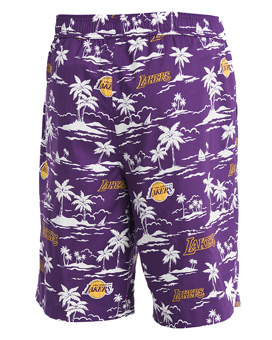 Los Angeles Lakers El West Shorts - Purple