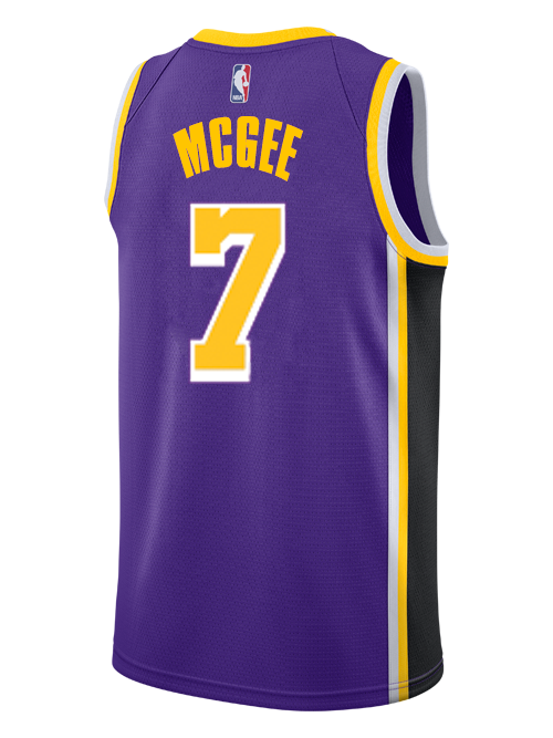 Los Angeles Lakers Javale McGee 2019-20 Statement Edition Swingman Jersey