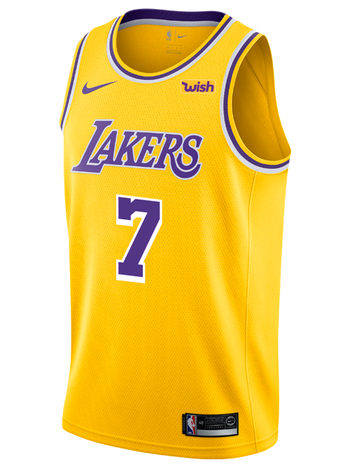 Los Angeles Lakers 	JaVale McGee 2018-19 Icon Edition Swingman Jersey