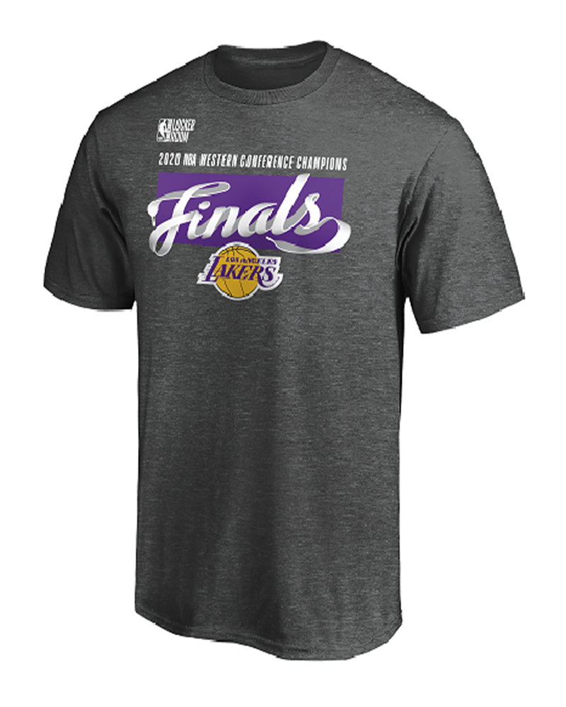 Conference Champions Locker Room Adult Los Angeles Lakers Tee