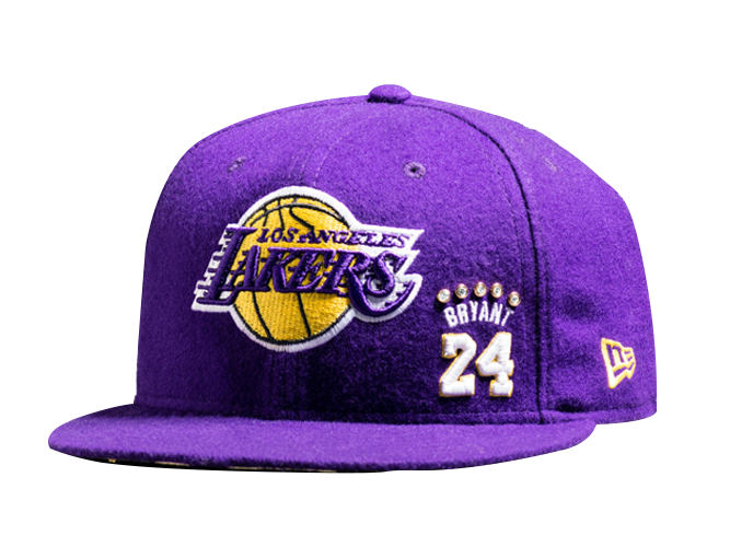 Los Angeles Lakers Limited Edition Kobe Bryant Diamond Fitted Cap