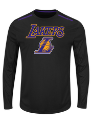 Los Angeles Lakers Conference Leaders Long Sleeve Crew Neck T-Shirt