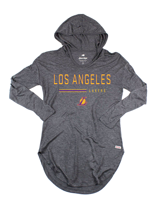 4361c8643 Los Angeles Lakers Womens Sofia Hoodie - Grey