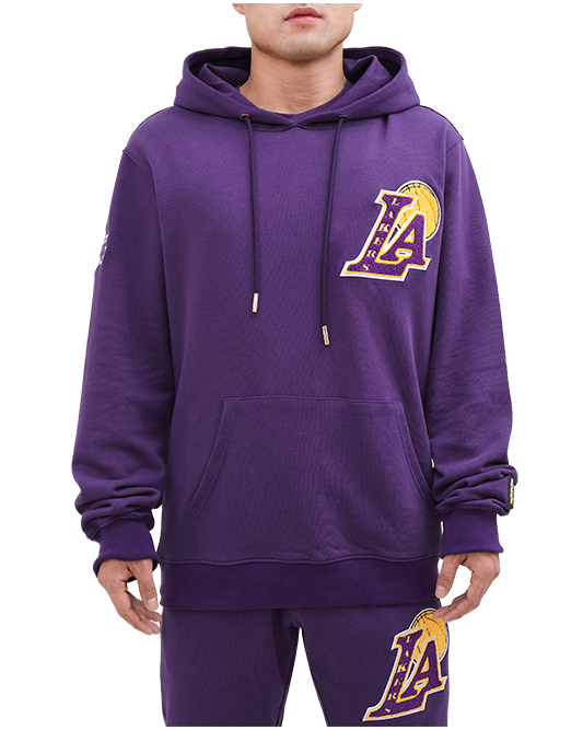 Los Angeles Lakers Blended French Terry Hoodie