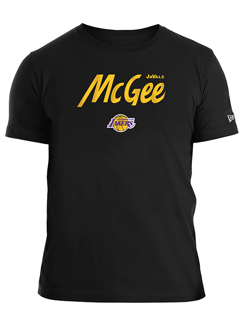 Los Angeles Lakers JaVale McGee Script T-Shirt