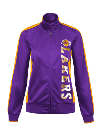 Los Angeles Lakers Women's Dropback Track Jacket