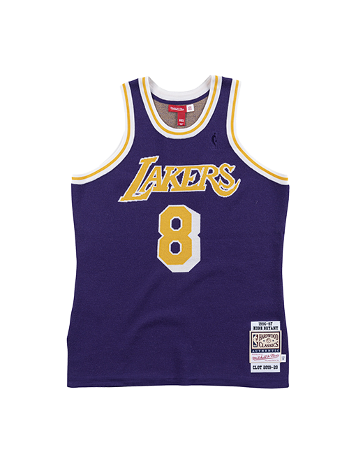 Los Angeles Lakers CLOT 1996-97  Kobe Bryant Knit Jersey