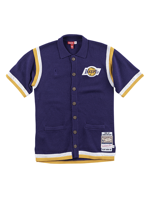 Los Angeles Lakers CLOT 1996-97 Kobe Bryant Knit Shooting Shirt