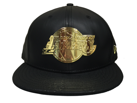 Los Angeles Lakers Limited Edition Kobe Bryant Metal Plate Fitted Cap