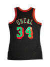 Los Angeles Lakers Shaquille Oneal Christmas Swingman Jersey