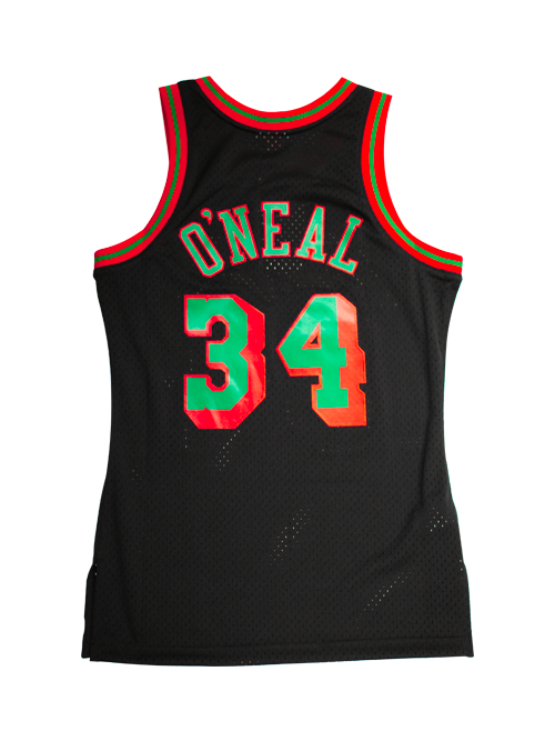 72fb05ed3823 Los Angeles Lakers Shaquille Oneal Christmas Swingman Jersey
