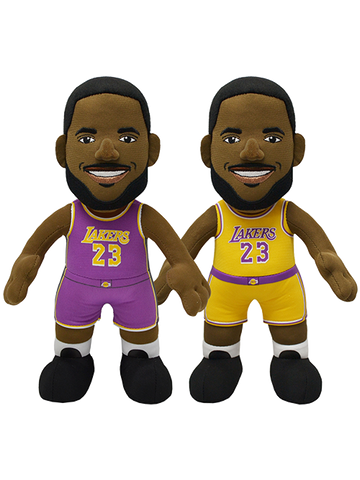"Los Angeles Lakers LeBron James Statement Edition Uniform 10"" Plush Figure"