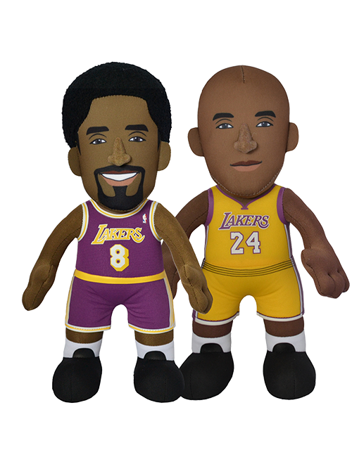 "Los Angeles Lakers Bundle: Kobe Bryant Legacy Collection 10"" Plush Figures"