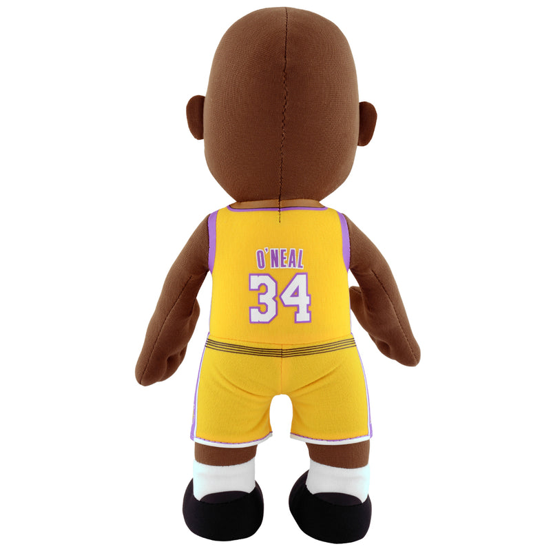 "Los Angeles Lakers Shaquille O'Neal 10"" Plush Figure - Gold"
