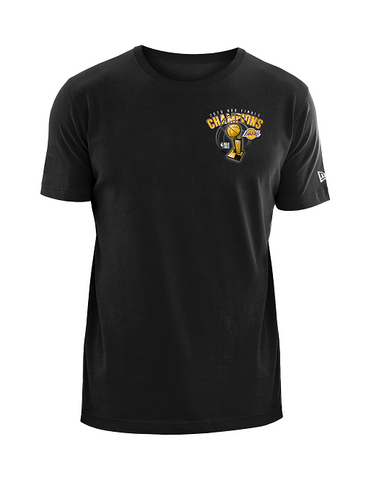 Los Angeles Lakers 2020 NBA Champions Trophy Logo T-Shirt