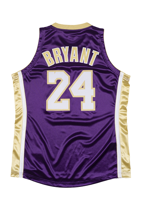 Los Angeles Lakers Kobe Bryant Hall of Fame 1996-97 #24 Authentic Jersey - Purple