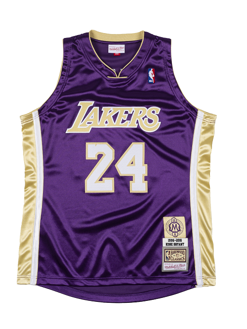 Los Angeles Lakers Kobe Bryant Hall of Fame 1996-97 #24 Authentic ...