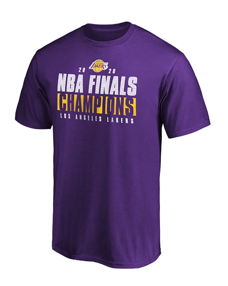 2020 NBA Champions Ready To Play Roster Los Angeles Lakers Tee