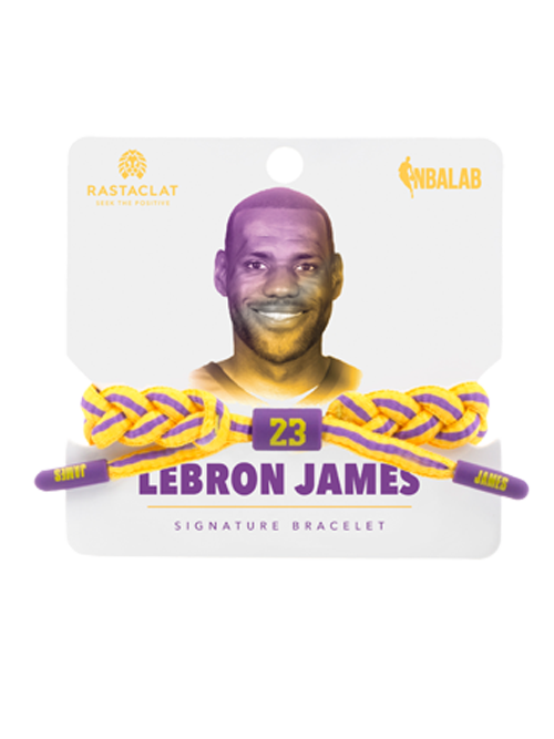 Los Angeles Lakers Rastaclat LeBron James Bracelet