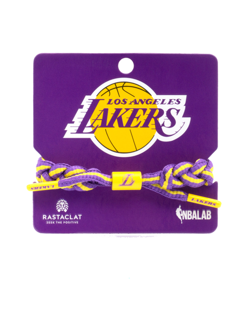 Los Angeles Lakers Rastaclat String Team Bracelet