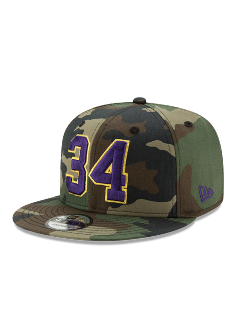 Los Angeles Lakers Shaquille O'Neal Camo Hat