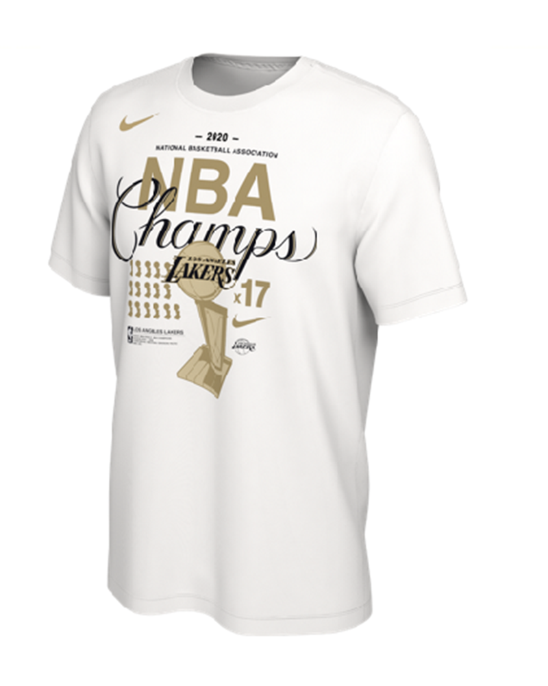Trophy Ring Banner Los Angeles Lakers Tee