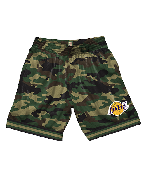 Los Angeles Lakers Camo Mesh Shorts