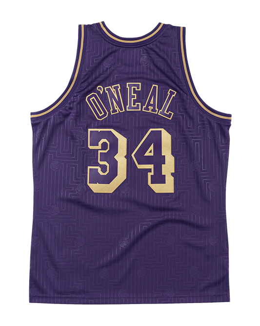 Los Angeles Lakers Chinese New Year Shaquielle O'Neal Swingman Jersey