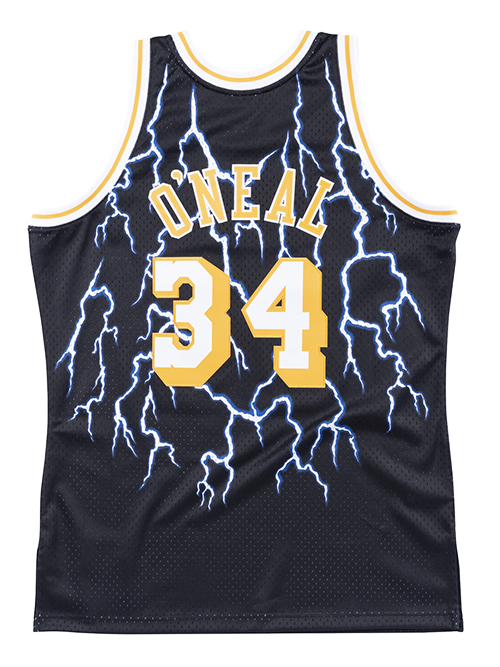 Los Angeles Lakers Shaquille O'Neal Lightning Swingman Jersey