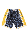 Los Angeles Lakers Lightning Swingman Shorts