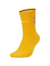 Los Angeles Lakers City Edition Elite Crew Sock - Gold