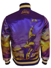 Los Angeles Lakers Limited Edition Kobe Bryant Satin Sky Full Zip Jacket