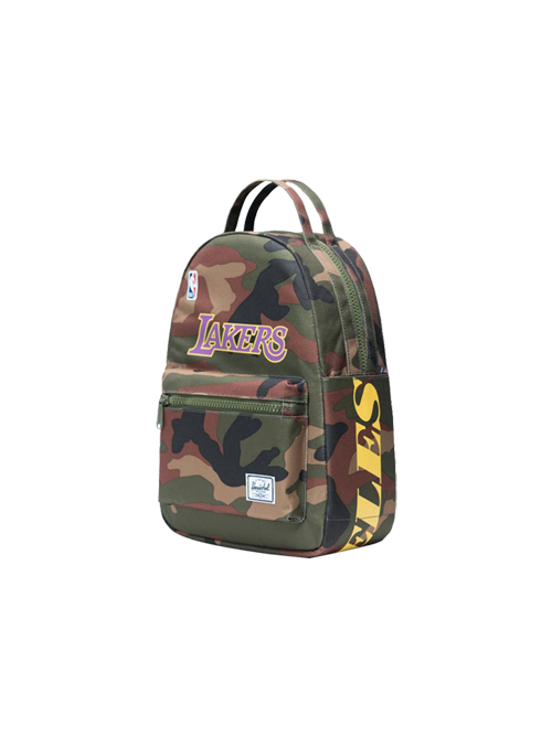 Los Angeles Lakers Superfan Nova Backpack - Camoflauge