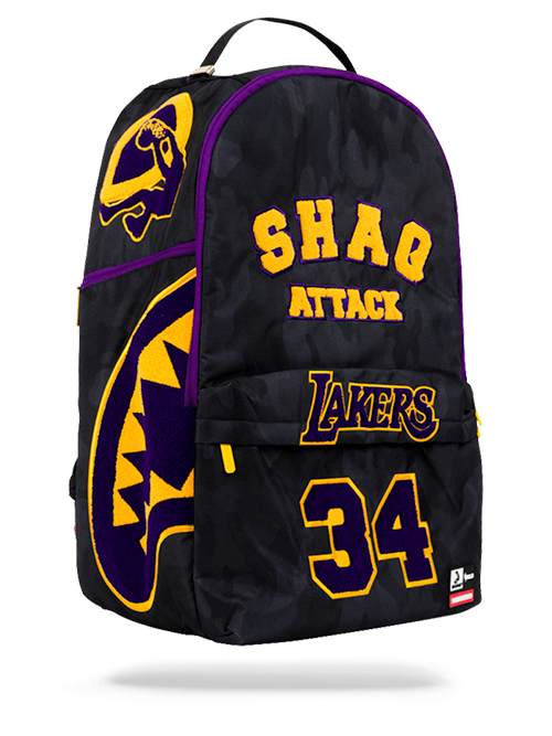 300587d113e4 Los Angeles Lakers Shaquille O Neal Super Size Backpack