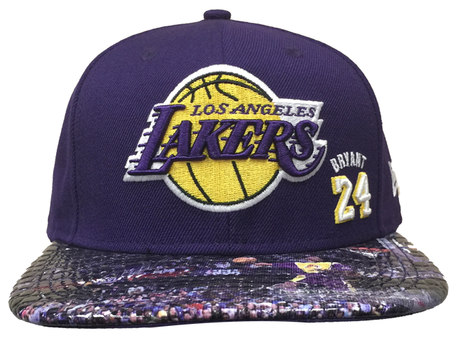 Los Angeles Lakers Limited Edition Kobe Bryant Slam Dunk Cap