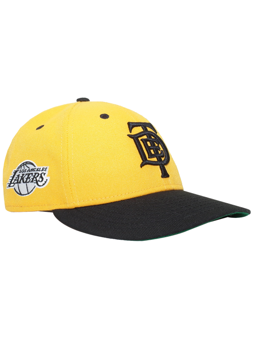 Los Angeles Lakers TDE 9FIFTY Low Profile Snapback - Gold Black ... e7fd0fb9cb8