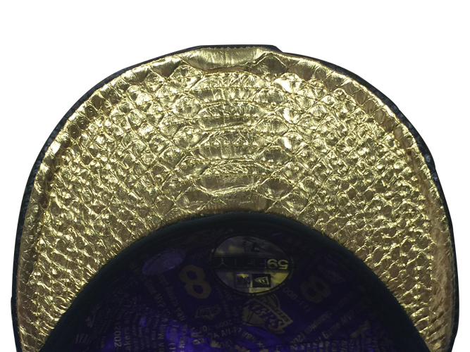 Los Angeles Lakers Limited Edition Kobe Bryant 18 Karat Gold Fitted Cap